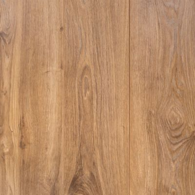 This roman oak laminate is 12mm and has a 25 year for Most economical flooring