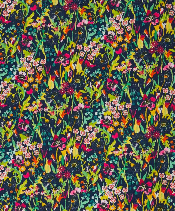 Liberty Art Fabrics Summer Posy Saville Poplin   Fabrics   Liberty.co.uk