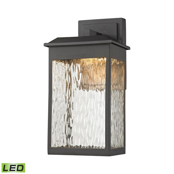 ELK Lighting 45200/LED Newcastle Collection Textured Matte Black Finish