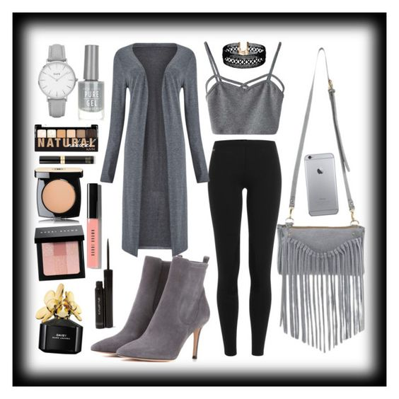 """""""Looking Grey, Just in Case if Mr. Grey Also Want Meet You Now  ❤"""" by misplacedperfection ❤ liked on Polyvore featuring Polo Ralph Lauren, Phase Eight, WithChic, Gianvito Rossi, Vanessa Mooney, Marc Jacobs, shu uemura, Bobbi Brown Cosmetics, Tom Ford and NYX"""