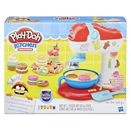 Play Doh Kitchen Creations Spinning Treats Mixer Food Set Play Doh Kitchen Play Doh Play Dough Sets