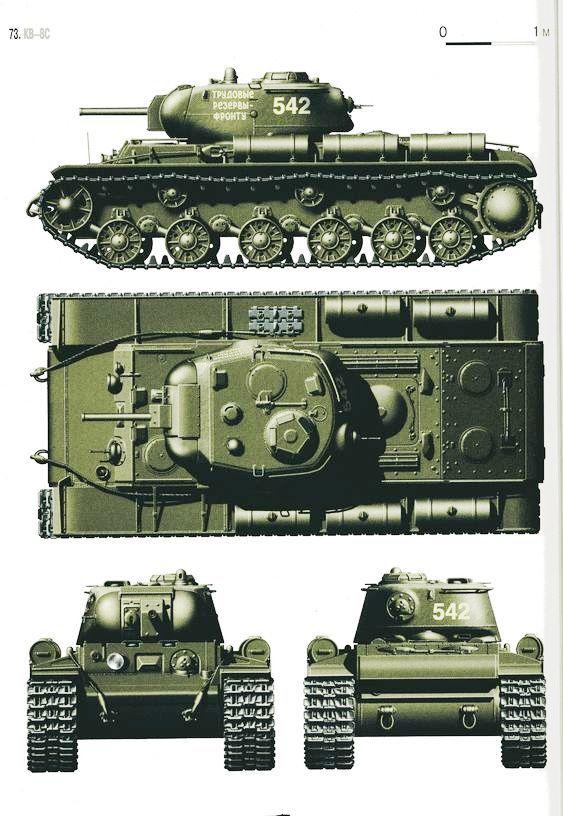 Kv 8s Soviet Heavy Flamethrower Tank 1942 Tanks Military Soviet Tank Military Vehicles