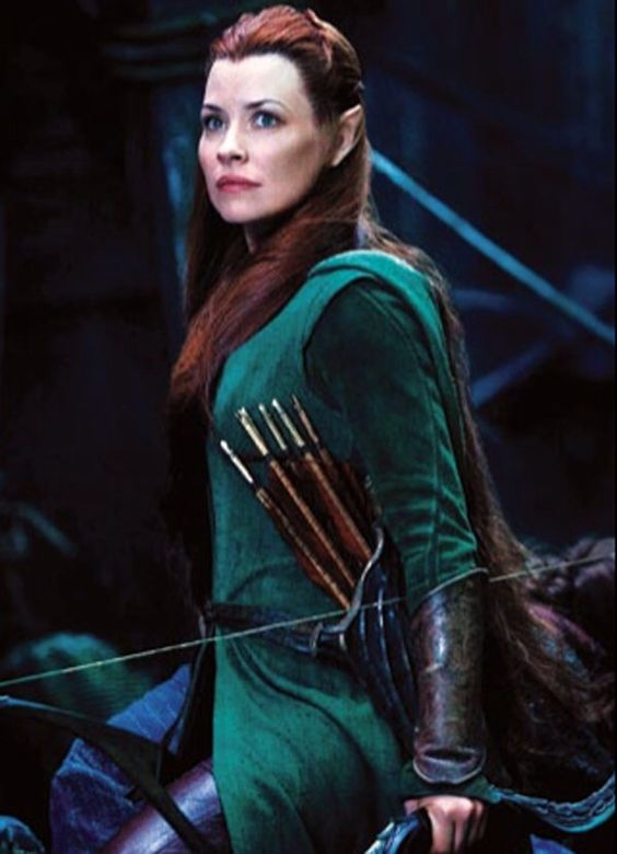 Tauriel in the Battle of the Five Armies