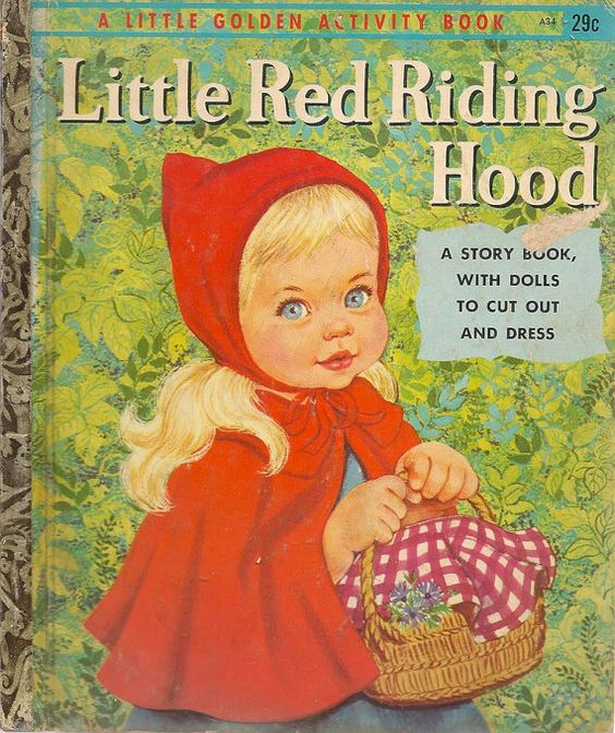 Vintage copies of Little Red Riding Hood
