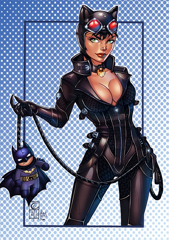 Catwoman by Gwendlg on DeviantArt