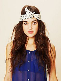 Printed Wire Tie in accessories-hair-accessories