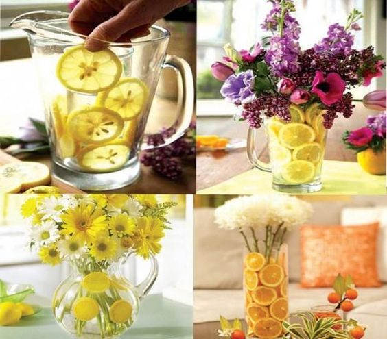 Floral Decor With Fruits #Family #Trusper #Tip