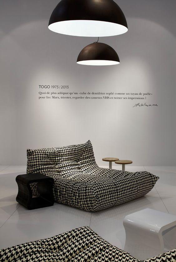 Inspiration decor | Diffus'Laine Tissus | pied de poule