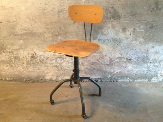 Machine Age Industrial Task Chair By HejaHome On Etsy, $149.00