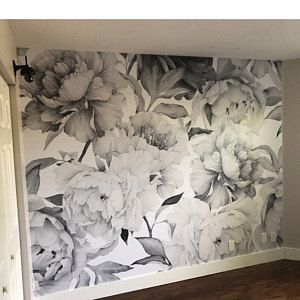 Removable Wallpaper Self Adhesive Wallpaper Blue Watercolor Dots Peel Stick Wallpaper Nursery Wallpaper Floral Wallpaper Vintage Floral Wallpapers Mural Wallpaper