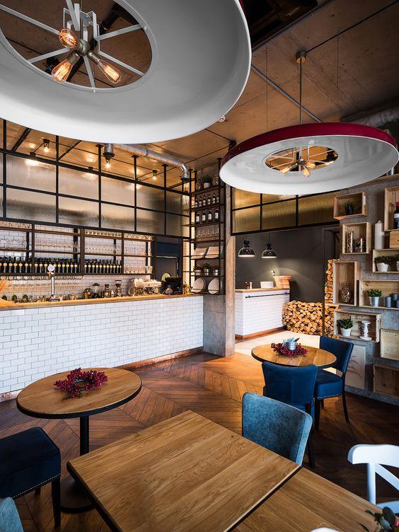 Otto pizza wine is small cozy restaurant located in