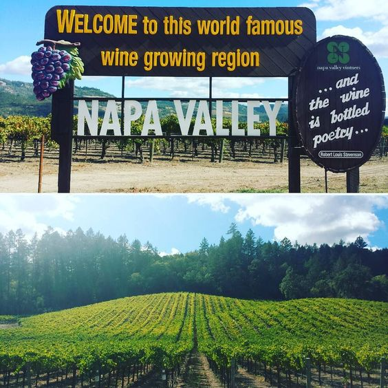 It's a gorgeous day for a drive in #napavalley. #visitnapavalley #california #winecountry #travel #roadtrip #americathebeautiful by ourstreamlinedlife