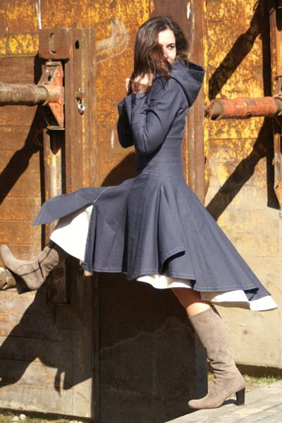 """Sommermantel """"Kamtschatka"""" von Stadtkleid auf DaWanda.com"""