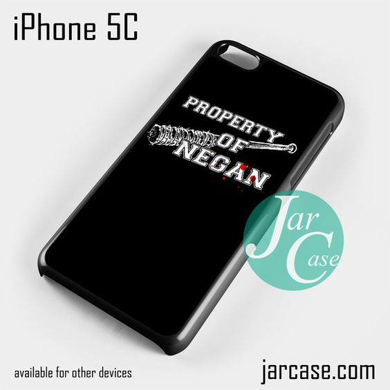 The Walking Dead Property of Negan Z Phone case for iPhone 5C and other iPhone devices