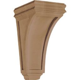 Corbels & Brackets CBL-AAC American Arts and Crafts Concave Wood Corbel