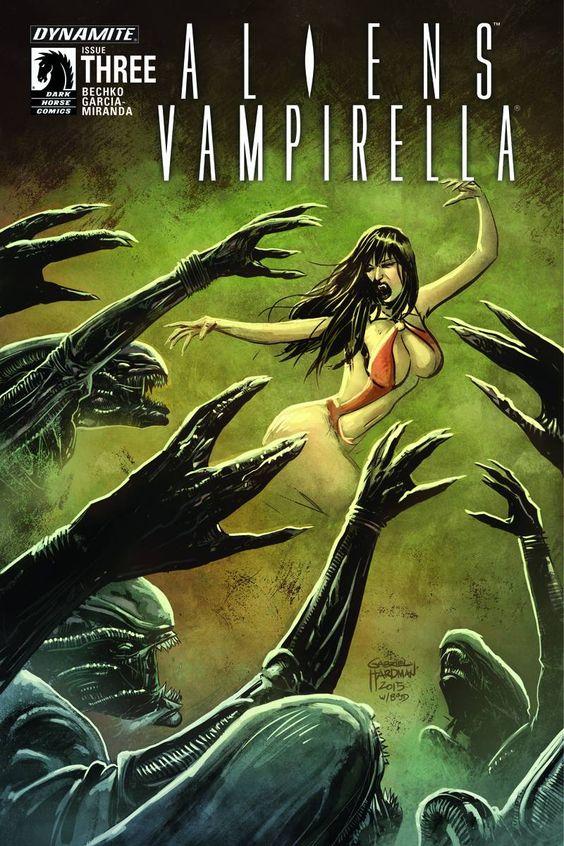Aliens - Vampirella (6P Ms)  #3