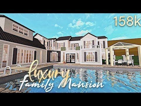 Bloxburg Luxury Vacation Family Mansion 154k 20k Special