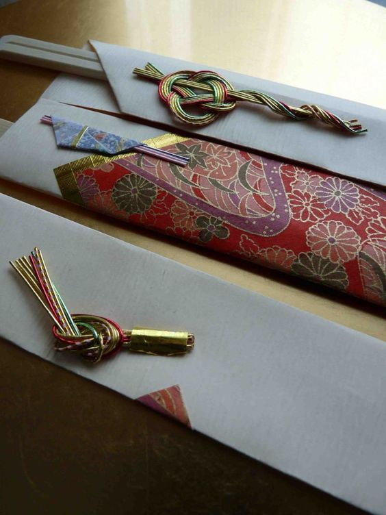 IwaiBashi, Japan's New Year's Special Chopsticks Wrap|祝い箸: Special Chopsticks, Chopsticks Wrapping, Crafts Ideas Japanese, Year, Japanese Style, Ideas Japonesas