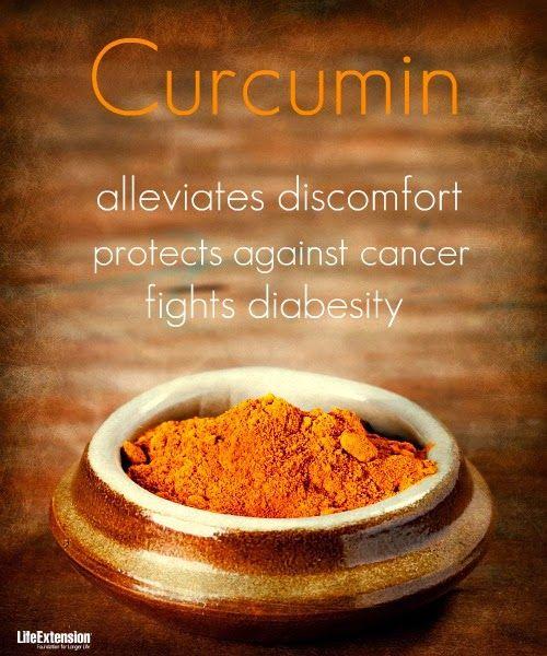 #Curcumin - amazing properties