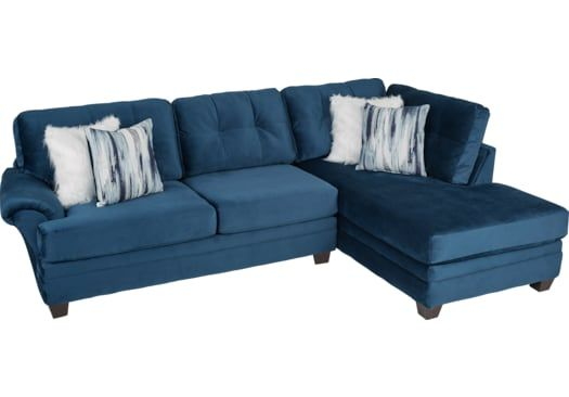 Dharma Place Blue 2 Pc Sectional Living Room Sets Blue Colors Sectional Living Room Sets Living Room Leather Living Room Sectional