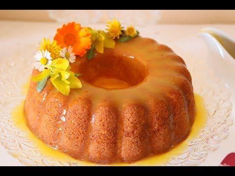 كيكة البرتقال الرائعة مع صوص البرتقال الشهي Orange Cake Youtube Food Desserts Yummy Food