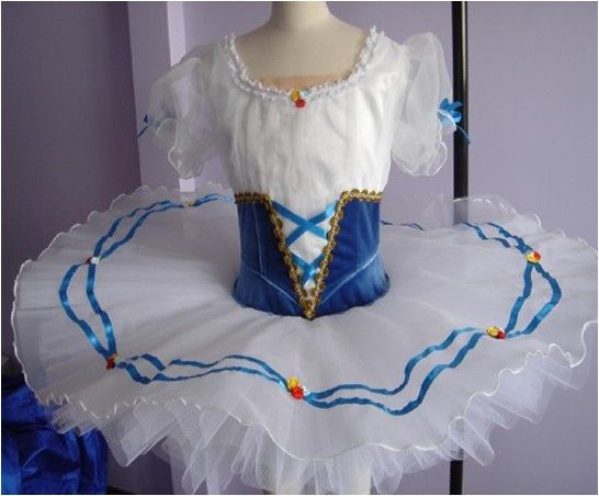 This highly professional costume was created for the role of Swanilda in…