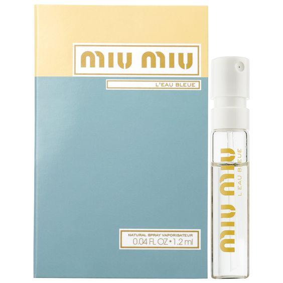 Miu Miu L'Eau Bleue (sample)
