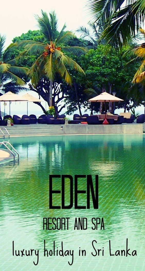 A fabulous location for a family holiday or couples relaxation in glorious Sri Lanka. Sri Lanka is our favourite country to visit, we have endless posts on our website about travel in Sri Lanka. Here's something different, Eden Resort and Spa. Luxury Holiday in Sri Lanka: