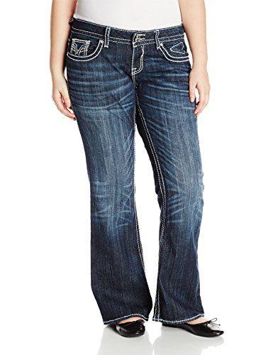 awesome vigoss women's plus-size dark wash new york boot   amazon