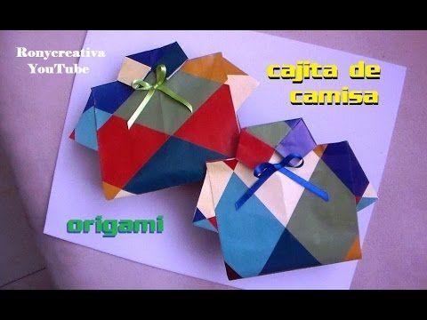 Cajita y tarjeta de camisa para el DIA DEL PADRE / Ronycreativa