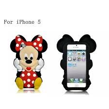 Minnie Mouse Rubber iPhone Case