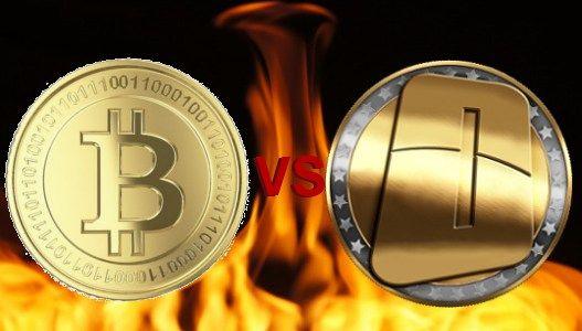 OneCoin vs. Bitcoin