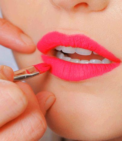 Neon coral for summer #spon: Bright Lip,  Lip Rouge, Bright Pink Lip, Neon Lip, Hot Pink Lip