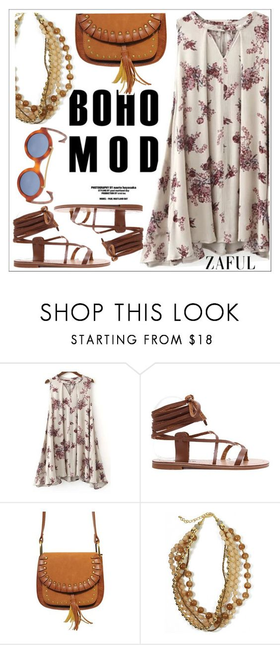 """""""Zaful"""" by teoecar ❤ liked on Polyvore featuring Saturnino and zaful"""