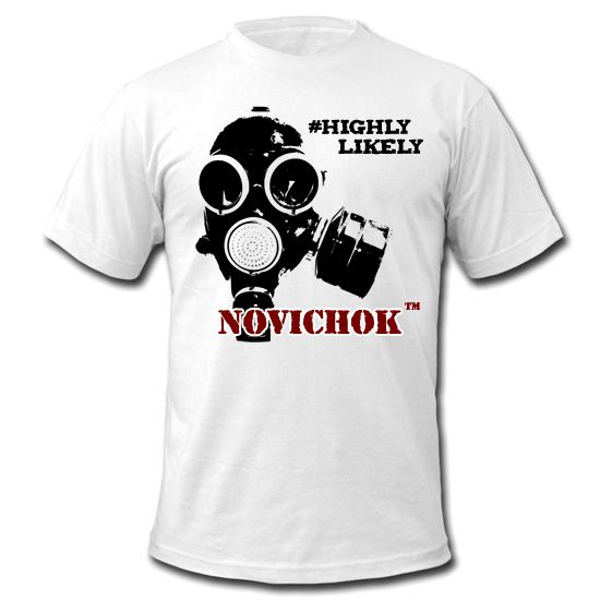 "Оригинальная футболка ""Novichok (Новичок)"" | Футболки"