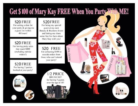 Mary Kay party idea. As a Mary Kay beauty consultant I can help ...