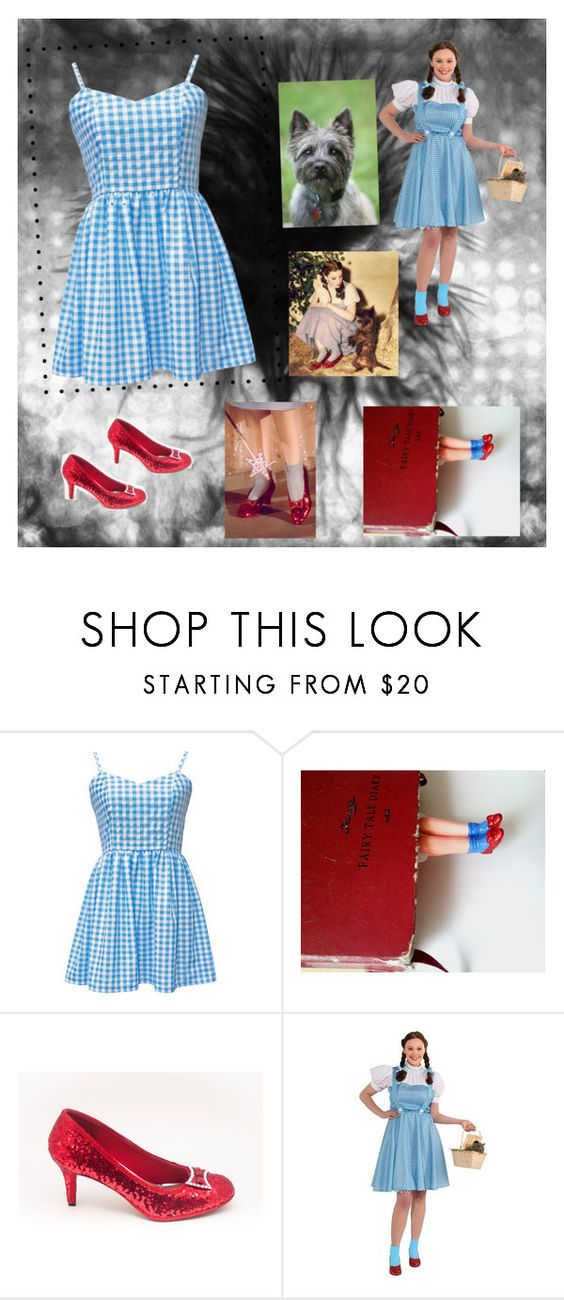 """Dorothy & ToTo :))))"" by briezy-2 ❤ liked on Polyvore"