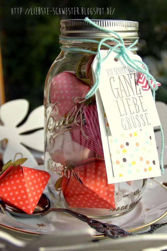 liebste schwester: Erdbeere trifft Ball Jar