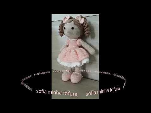 Crochet Doll - Tutorial e Padrão Grátis | Brinquedos de tricô ... | 360x480