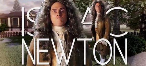 True Geekery with Dr Weird Al!  It's Sir Isaac Newton Vs. Bill Nye In An Epic Rap Battle Featuring Weird Al [Video]