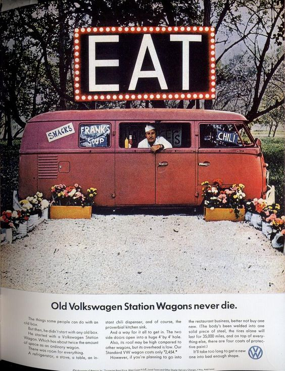 Old Volkswagen Station Wagons never die.