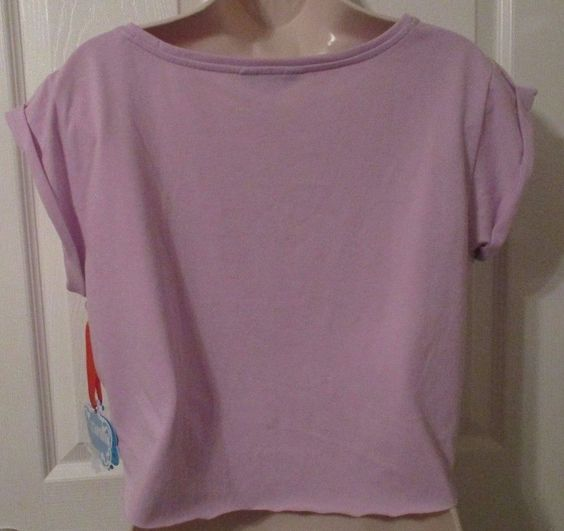 Ladies Nanette Lepore Crop Top Tee Shirt, Size Large, Cap Sleeve, NWT's #NanetteLepore #CropTop