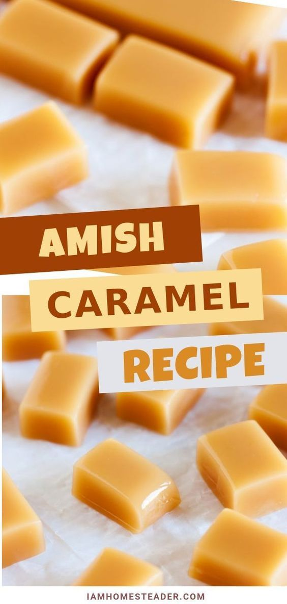 Amish Caramels