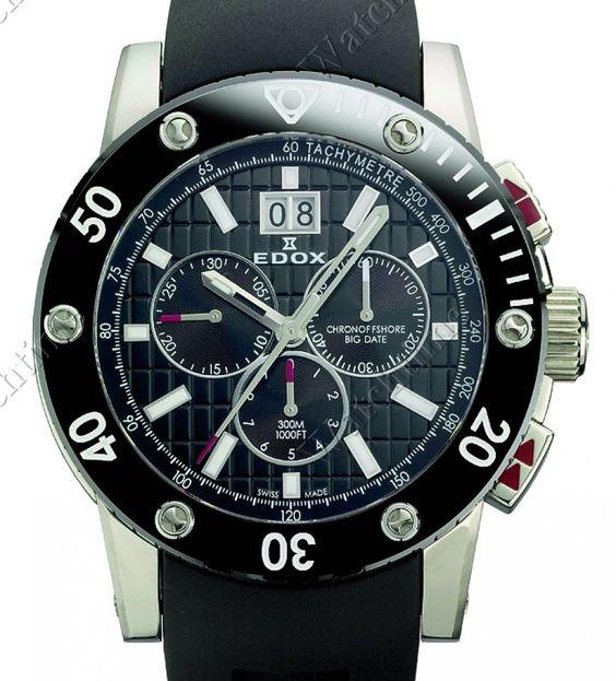 Edox | Class 1 Chronograph Big Date | Edelstahl | Uhren-Datenbank watchtime.net