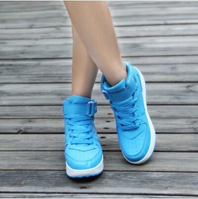 Encontrar Más Moda Mujer Sneakers Información acerca de Transpirable aumento de la altura zapatillas para mujeres 2015 deportes de invierno zapatos de plataforma zapatos pivotar, alta calidad zapatillas de deporte zapatos de las mujeres, China zapatos de enredaderas Proveedores, barato zapatillas de deporte zapatos atléticos de HaWa 7 en Aliexpress.com
