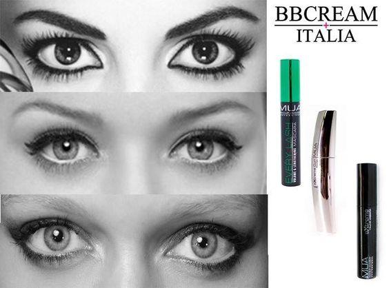 Il mascara è importantissimo per giocare con il proprio #sguardo, ecco allora preziosissimi consigli per renderlo il più #seducente possibile. #Occhi #tondi o #grandi?  Utilizza un Mascara Allungante:  Occhi piccoli? Utilizza un Mascara Incurvante:  Occhi spenti dalle occhiaie? Utilizza un Mascara #Volumizzante: http://www.bbcreamitalia.eu/prodotto-143524/MUA-PRO-EXTREME-VOLUME-MASCARA-BLACKBROWN.aspx