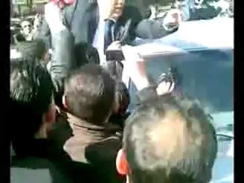 First Demonstration in #Syria Protests in #Damascus, Old City, February 17,...