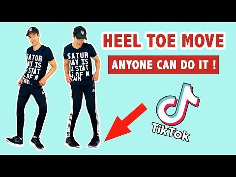 How To Do The Feet Thing Heel Toe Move Popular Tik Tok Dance Move Youtube How To Shuffle Dance Dance Moves Dance
