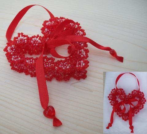 "Валентинка ""Бархатное сердце"" Velvet heart"