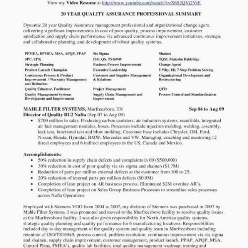 68 Best Of Gallery Of Resume Summary Examples Logistics Manager